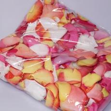 Rosenblüten Blätter, 200 Gramm, gemischt