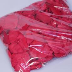 Rosenblüten Blätter, 200 Gramm, rot